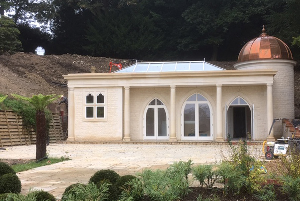 "New Build Garden ""Folly"", Hampshire"